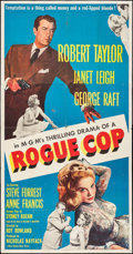 """Movie Posters:Crime, Rogue Cop (MGM, 1954). Three Sheet (41"""" X 79""""). Crime.. ..."""