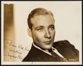 """Movie Posters:Miscellaneous, Douglas Montgomery & Others Lot (1930s). Autographed Photos (2) (8"""" X 10"""") & Trimmed Autographed Photo (7.25"""" X 8.75""""). Misc... (Total: 3 Items)"""