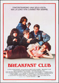 "Movie Posters:Drama, The Breakfast Club (U.I.P., 1985). Italian 2 - Fogli (39.25"" X 55.25""). Drama.. ..."