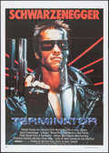 "Movie Posters:Science Fiction, The Terminator (Orion, 1984). Italian 2 - Fogli (39.25"" X 55.25"").Science Fiction.. ..."