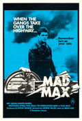 "Movie Posters:Science Fiction, Mad Max (Roadshow, R-1981). Australian One Sheet (27"" X 40"").. ..."
