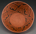 American Indian Art:Pottery, A Wingate Black-On-Red Bowlc. 1050 - 1300 AD