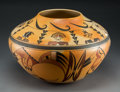 American Indian Art:Pottery, A Contemporary Hopi Polychrome JarMark Tahb...