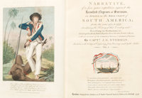 J[ohn]. G[abriel]. Stedman. Narrative of a five years' expedition... London: First edition