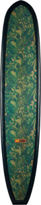 General Americana, Dewey Weber. Performer Model. With full paisley deck patch .114 inches (289.6 cm). ...