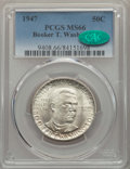 Commemorative Silver, 1947 50C Booker T. Washington MS66 PCGS. CAC. PCGS Population: (294/9). NGC Census: (150/9). CDN: $200 Whsle. Bid for probl...
