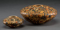 American Indian Art:Pottery, Two Contemporary Hopi Polychrome Seed Jars. Karen Abieta... (Total:2 Items)