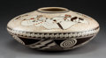 American Indian Art:Pottery, A Contemporary Hopi Polychrome Seed Jar. Rainey Naha...