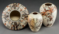 American Indian Art:Pottery, Three Contemporary Hopi Polychrome Jars. Rainey Naha... (Total: 3Items)