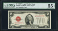 Fr. 1507* $2 1928F Legal Tender Star Note. PMG About Uncirculated 55 EPQ