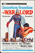 "Movie Posters:War, The War Lord & Others Lot (Universal, 1965). One Sheets (3)(27"" X 41""). War.. ... (Total: 3 Items)"