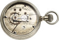 "Timepieces:Pocket (pre 1900) , Fredonia Nickel ""Quick Beat"" Serial No. 100 Ca..."
