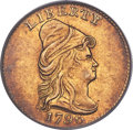 Early Quarter Eagles, 1796 $2 1/2 No Stars on Obverse, BD-2, R.4, MS61 PCGS. CAC....