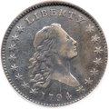 Early Half Dollars, 1794 50C O-101a, T-7, High R.3 -- Damaged -- NCS. VF Details....