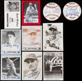 Autographs:Sports Cards, Signed Collector Sets Baseball Cards Collection (45) - Various EraPlayers. . ...