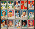 Autographs:Sports Cards, Signed 1952 Topps Baseball Collection (33). ...