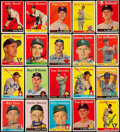 Autographs:Sports Cards, Signed 1958 Topps Baseball Card Collection (40). ...