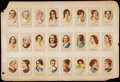 "Non-Sport Cards:Sets, 1889 N353 Consolidated Cigarettes ""Ladies of The White House"" NearSet (24/25).. ..."