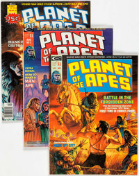 Planet of the Apes #1-29 Complete Run Group (Marvel, 1974-77) Condition: Average VF.... (Total: 29 Comic Books)