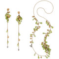 Estate Jewelry:Suites, Diamond, Peridot, Gold Jewelry Suite. ... (Total: 2 Items)