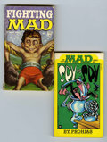 Memorabilia:Comic-Related, Assorted Comics-Related Books (Various Publishers, 1970-2001) Condition: VG....