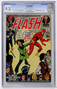 The Flash #204 (DC, 1971) CGC NM- 9.2 Off-white to white pages