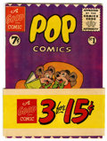 Golden Age (1938-1955):Funny Animal, Pop Comics #1 (Modern Store Publishing, 1955) Condition: VF/NM....