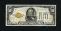 Small Size:Gold Certificates, Fr. 2404 $50 1928 Gold Certificate. Fine.. ...