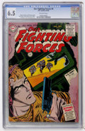 Golden Age (1938-1955):War, Our Fighting Forces #6 (DC, 1955) CGC FN+ 6.5 Off-white pages....