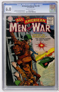 Golden Age (1938-1955):War, All-American Men of War #20 (DC, 1955) CGC FN 6.0 Off-white towhite pages....