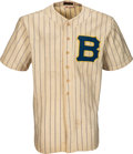 Baseball Collectibles:Uniforms, 1938 Casey Stengel Game Worn Boston Bees Jersey, MEARS A9--Photo Matched!. ...