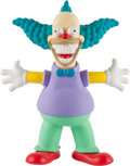 General Americana, Ron English x Made by Monsters. Krusty the Grin, 2016.Painted cast vinyl. 12 x 9.5 x 4 inches (30.48 x 24.13 x 10.16cm...