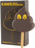 Other, KAWS (American, b. 1974). Warm Regards Bar (Brown), 2008. Painted cast vinyl. 6-1/2 x 3-1/2 x 1 inches (16.5 x 8.9 x 2.5...