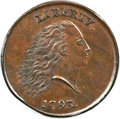 Large Cents, 1793 1C Chain, AMERICA, Periods, S-4, B-5, R.3, MS65 Brown PCGS.CAC....