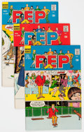 Bronze Age (1970-1979):Humor, Pep Comics Group of 64 (Archie, 1970-79) Condition: Average FN....(Total: 64 Comic Books)