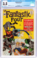Fantastic Four #2 (Marvel, 1962) CGC VG- 3.5 White pages