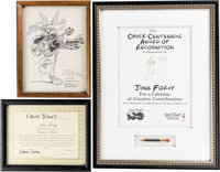 The Art of Chuck Jones Group of 3 (Chuck Jones, 1977/2001/2012 )... (Total: 3 Items)