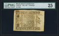 Colonial Notes:Rhode Island, Rhode Island May 1786 10s PMG Very Fine 25.. ...