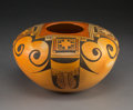 American Indian Art:Pottery, A Hopi Polychrome Jar. Fannie Nampeyo. c. 1975...