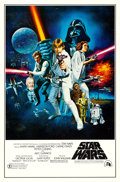 "Movie Posters:Science Fiction, Star Wars (20th Century Fox, 1977). One Sheet (27""..."