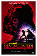 "Movie Posters:Science Fiction, Revenge of the Jedi (20th Century Fox, 1982). One Sheet (27"" X 41"") Dated Advance Style, Drew Struzan Artwork.. ..."