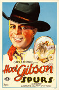 "Movie Posters:Western, Spurs (Universal, 1930). One Sheet (27"" X 41"").. ..."