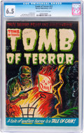 Golden Age (1938-1955):Horror, Tomb of Terror #12 (Harvey, 1953) CGC FN+ 6.5 Cream to off-whitepages....