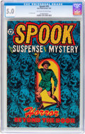 Golden Age (1938-1955):Horror, Spook #25 (Star Publications, 1953) CGC VG/FN 5.0 Off-white towhite pages....