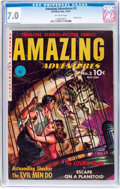 Golden Age (1938-1955):Science Fiction, Amazing Adventures #3 (Ziff-Davis, 1951) CGC FN/VF 7.0 Off-whitepages....