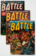 Golden Age (1938-1955):War, Atlas Golden Age War Comics Group of 17 (Atlas, 1952-58) Condition:Average GD.... (Total: 17 Comic Books)