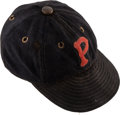 Baseball Collectibles:Uniforms, 1931-33 Paul Waner Game Worn Pittsburgh Pirates Cap, MEARSAuthentic.. ...