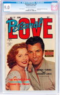 Golden Age (1938-1955):Romance, Personal Love #27 (Famous Funnies Publications, 1954) CGC VF/NM 9.0Off-white to white pages....