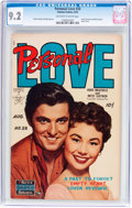 Golden Age (1938-1955):Romance, Personal Love #28 (Famous Funnies Publications, 1954) CGC NM- 9.2 Off-white to white pages....