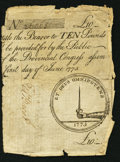 Colonial Notes, South Carolina June 1, 1775 £10 Very Good.. ...